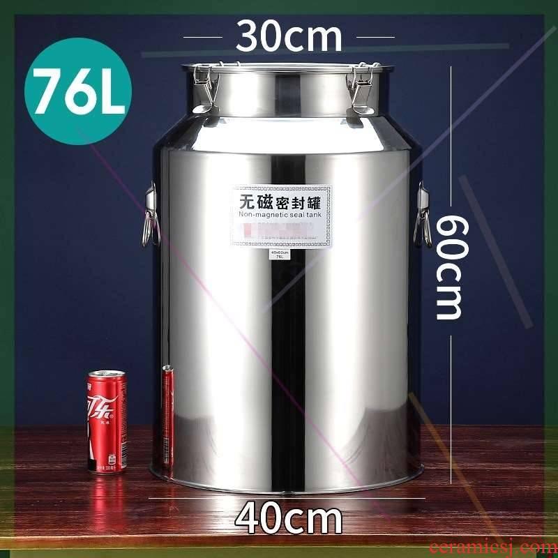 304 stainless steel sealed bucket of Mongolian milk milk storage barrel of oil transportation milk sauce food caddy fixings