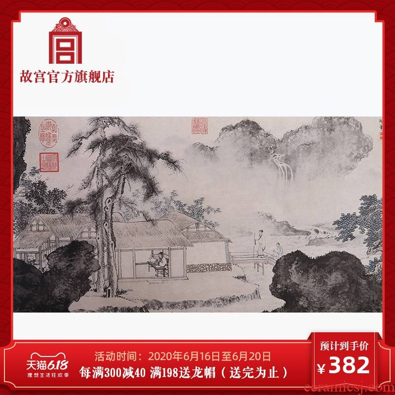 Mingyuan palace things figure lite portable teahouse study adornment palace official birthday gift