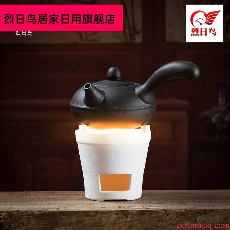 White clay based in mini charcoal stove alcohol furnace furnace scented tea tea tea warmers ceramics burn boiled tea stove
