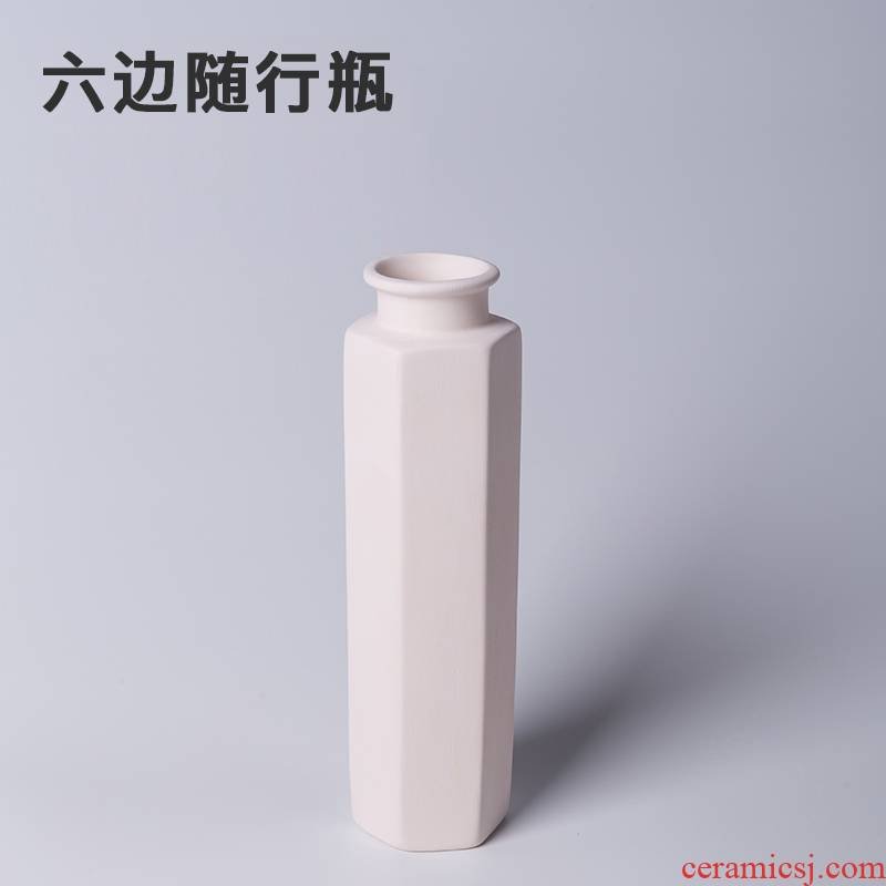 Element billet with bottle pottery bar ceramic DIY hot plain grey coloured drawing or pattern