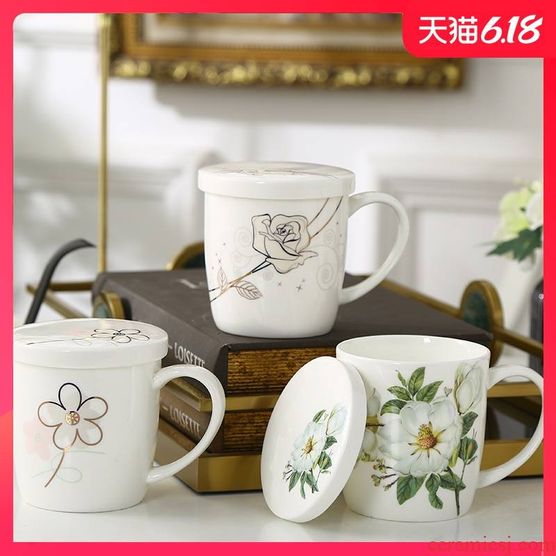 Garland ipads porcelain cup expressions using office creative ceramic keller household contracted ipads porcelain cup cup can be customized