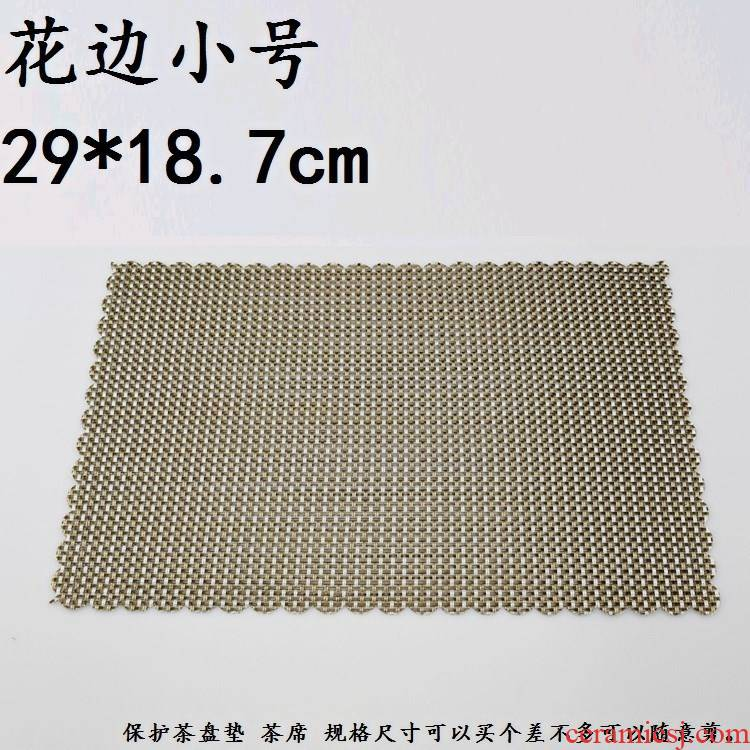 "Hot insulation accessories bamboo tea with tea table MATS filter cup mat mat ground tea tea ""bamboo matt"" matting trumpet"