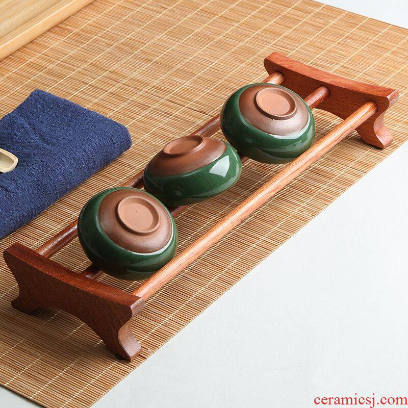 T cupholders real wood, ebony, rosewood crossover vehicle accessories bamboo kung fu tea tea tea tray with zero receive a drain. Tapping