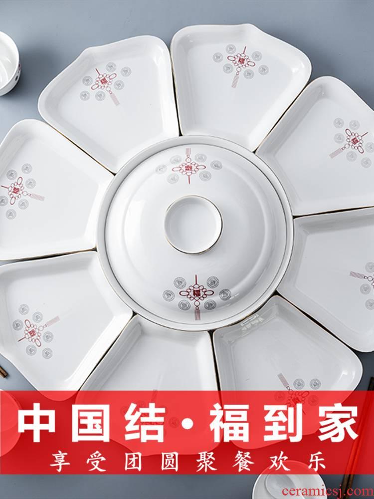 Platter tableware portfolio suit household table fan reunion dinner ideas 0 ceramic the trill web celebrity