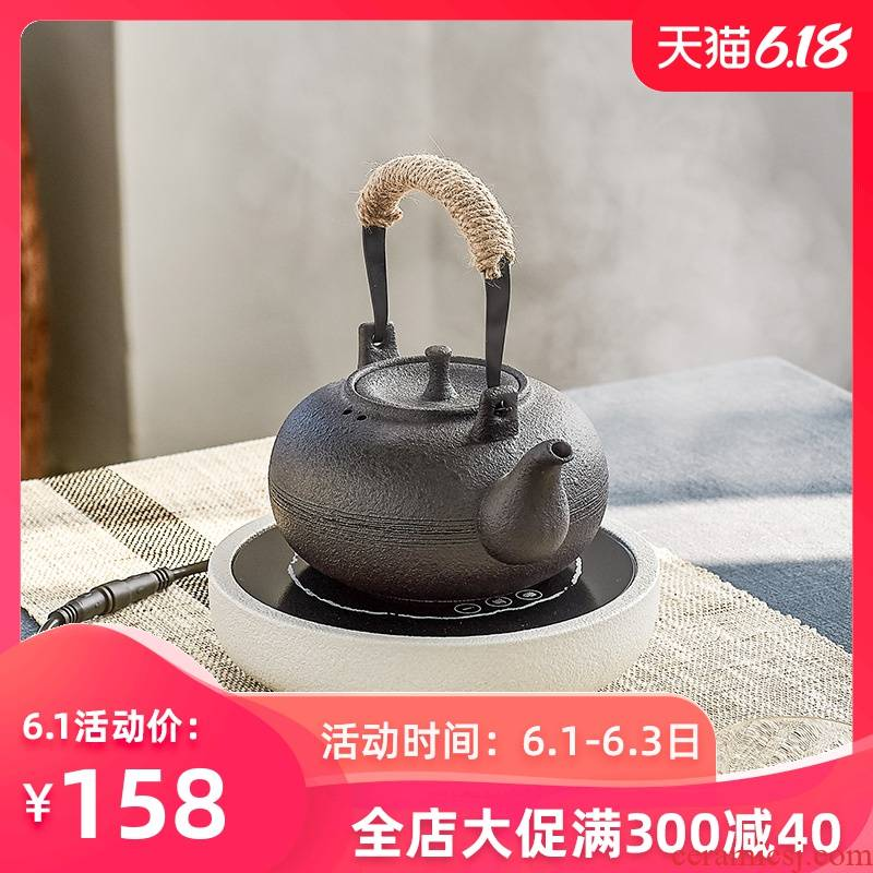 Taiwan warbler song town xiao waves to burn electric TaoLu household kunfu tea kettle boil the kettle ceramic small tea stove suits for