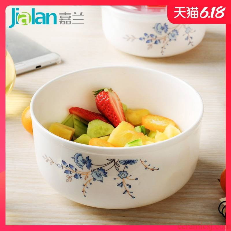 Garland microwave lunchbox crisper ipads China preservation bowl of small ceramic bowl with cover seal lunch box