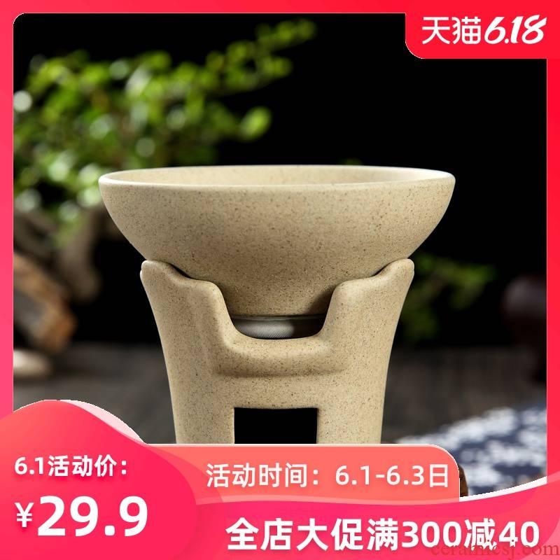 Kung fu tea accessories coarse pottery) tea tea every ceramic tea filter filter lies between tealeaf tea good restoring ancient ways