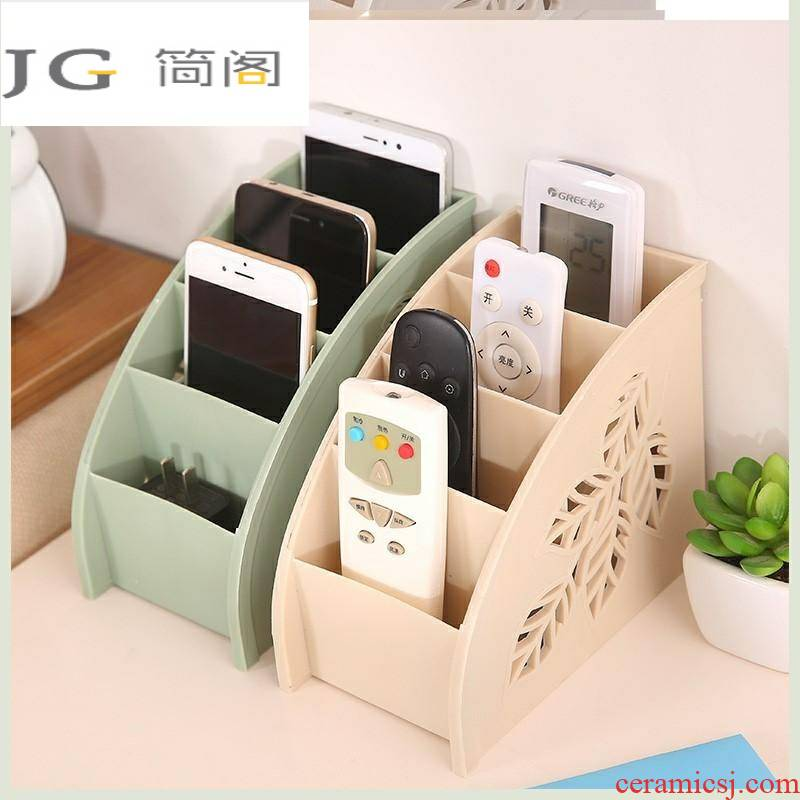Shelf simple box desktop tea table multifunctional mobile phone charging remote control of the head of a bed the receive bedroom originality
