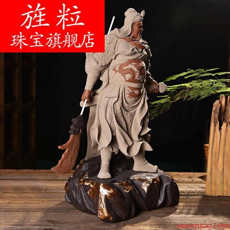 Bm zen furnishing articles domineering duke guan sitting room porch decoration ceramics handicraft D52-56