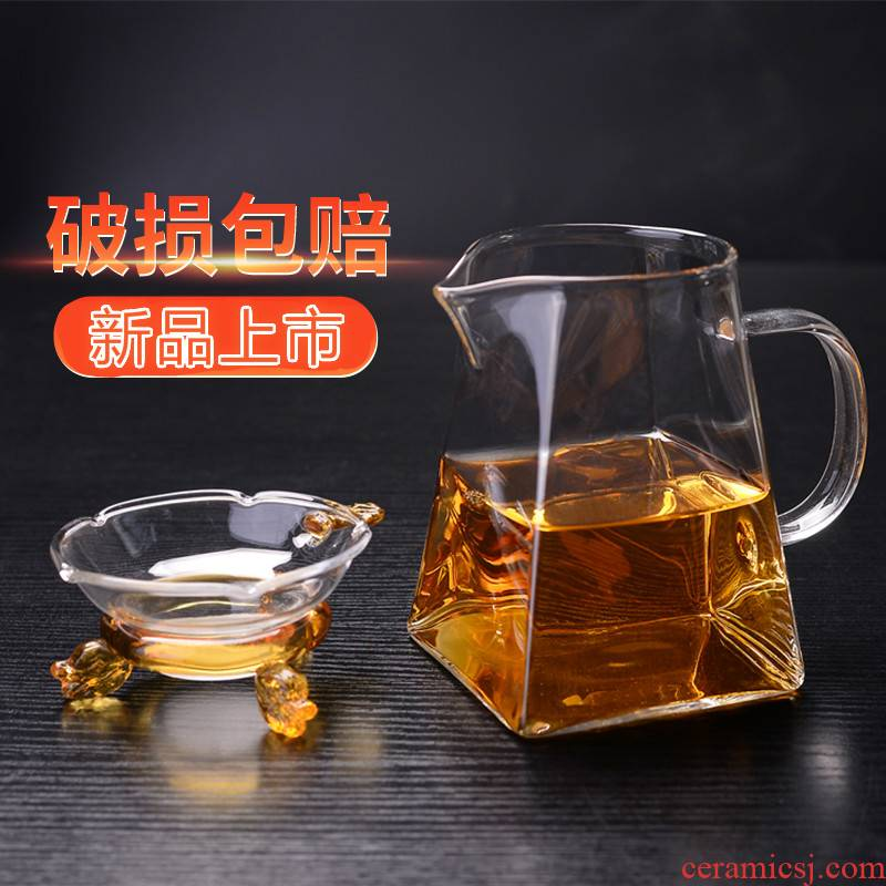 Glass) suit creative tea every good kung fu tea tea accessories tea tea, super fine