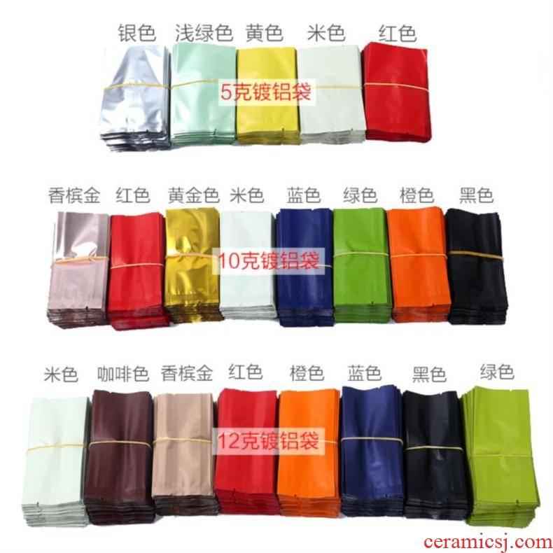 Long more green tea tea bag bag bag color one - time tea bag in small mercifully bag valve bag in the custom