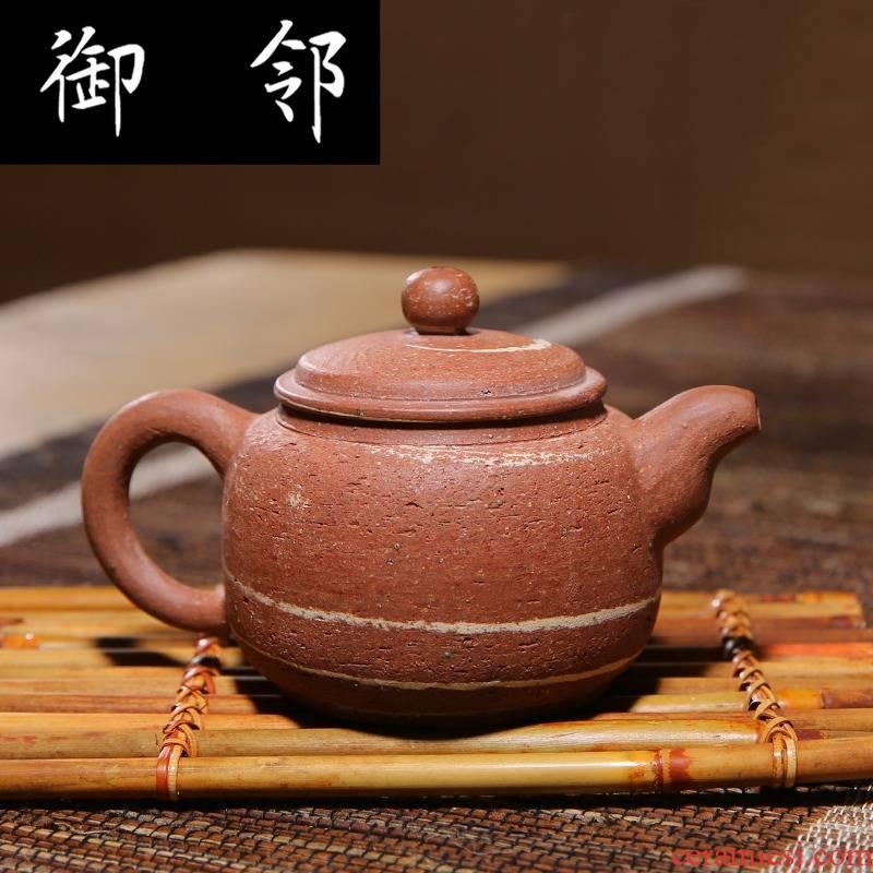 Chongqing RongChangTao high antique teapot pot of pure checking ceramic POTS thick mud thin mud not it make tea, tea sets
