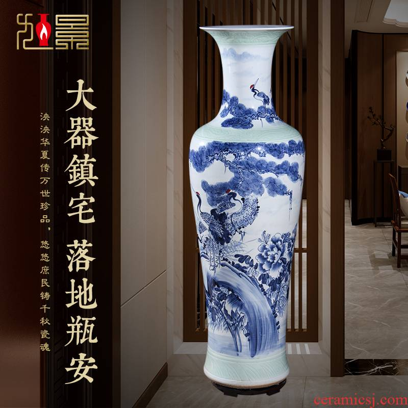 Xu jing ceramic sitting room of large vase household modern creative flower arranging, jingdezhen Nordic decorations furnishing articles