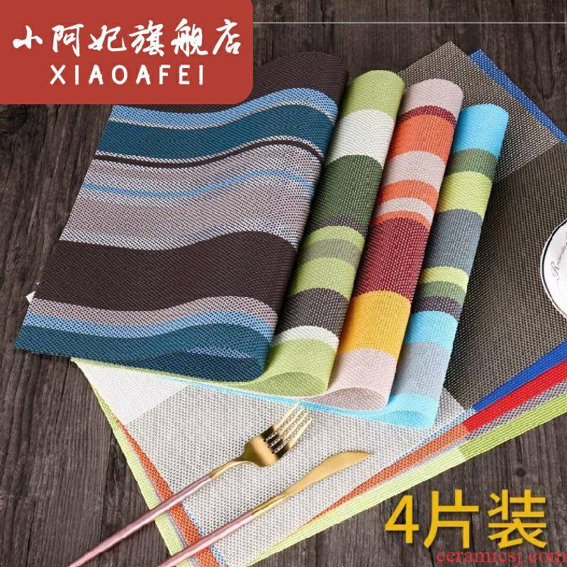 Heat patch table speed dry Heat insulation pad iron bowl as table eat mat tea table large plates that occupy the home