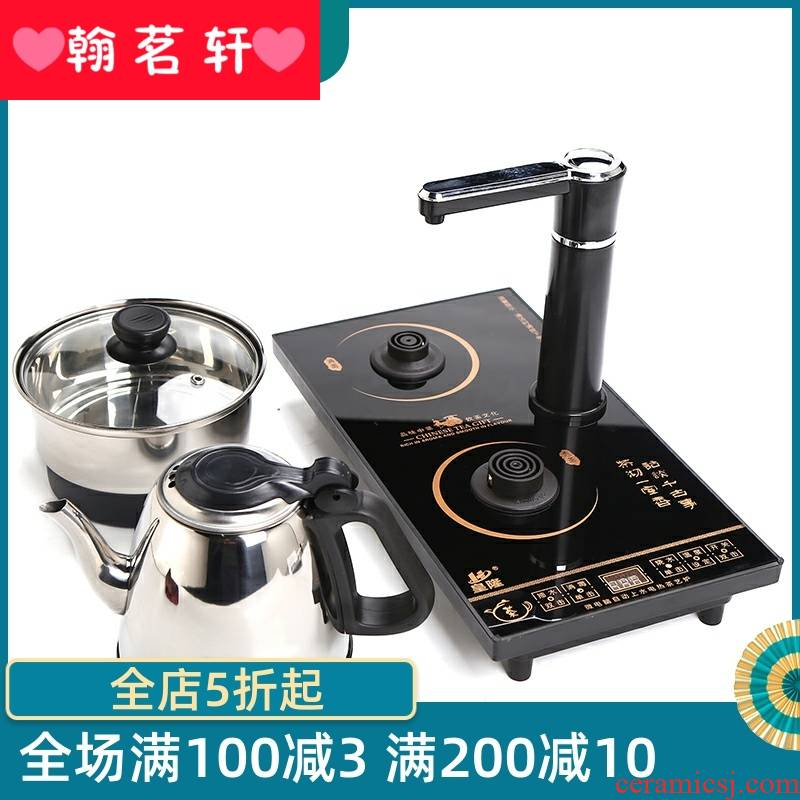 20 x37 automatic electric kettle home burn up water boiler suit pumping teapot tea tea kettle