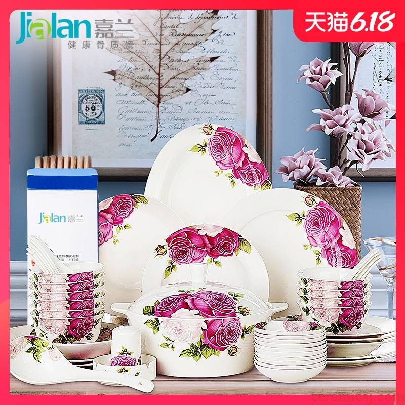 Garland powder ink life free collocation with ipads bowls plates to eat rainbow such as bowl bowl spoon, Korean are optional