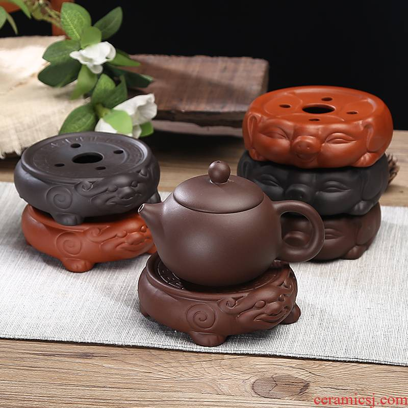 T are it pad saucer pot bearing pot supporting kung fu tea tea accessories teapot teacup pad ceramic base package