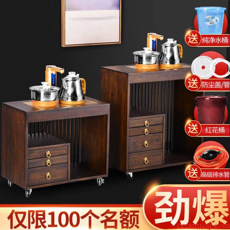 It still fang tea tray mobile tea tea kettle body home small tea table multifunctional tea tea tank car