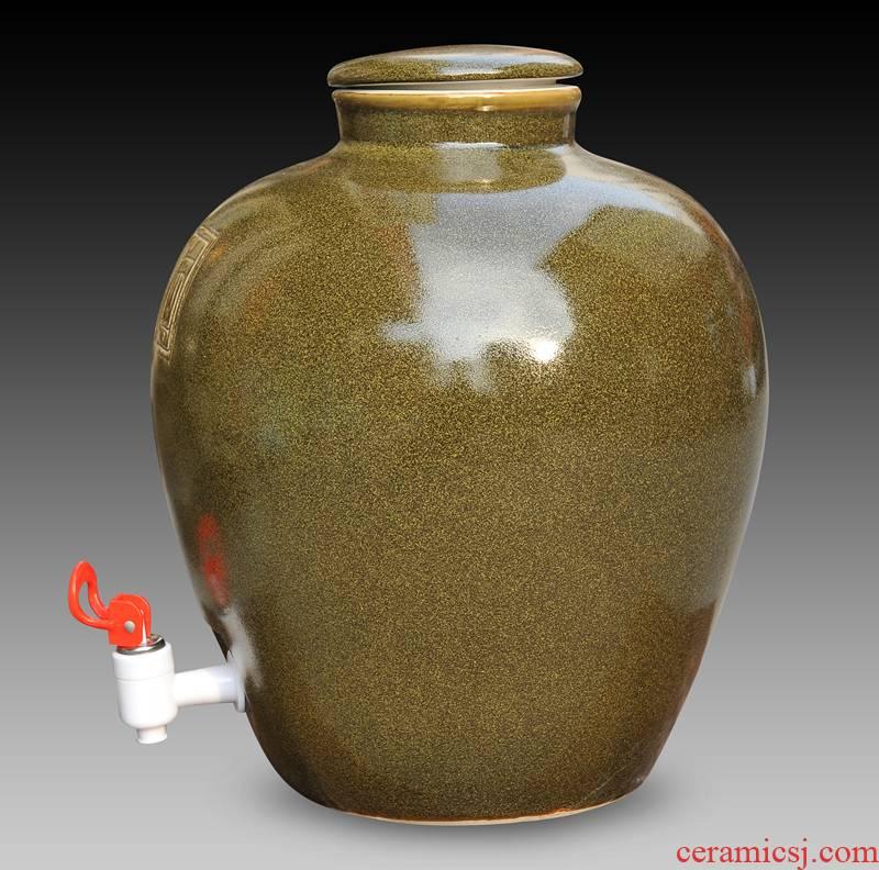 Bales mail (50 kg/liquor altar wine casks it jingdezhen ceramics by hand wine storage