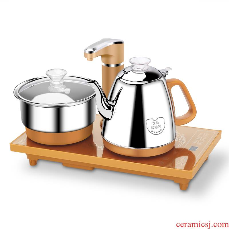 Lifetime (giant) four unity electric kettle automatically make tea kettle tea accessories electric rotating pumping unit
