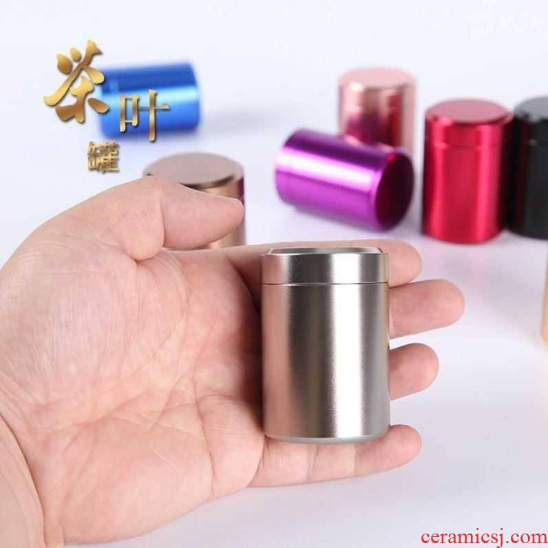 304 stainless steel metal caddy fixings small portable mini tea box sealed tank storage tanks to travel