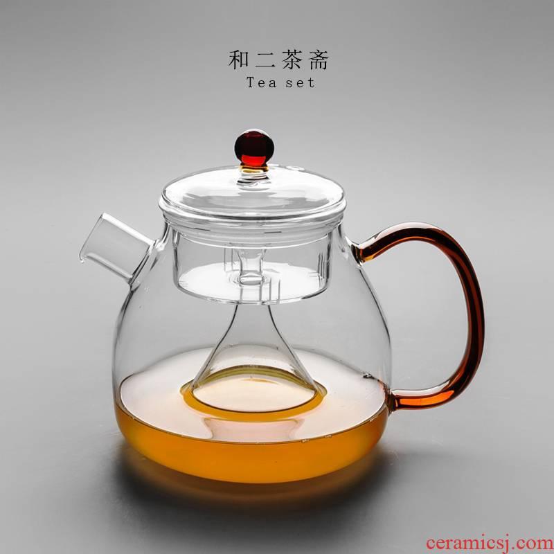 Glass teapot tea special large capacity steam separation electric TaoLu black tea and white tea pot cooking and boil tea