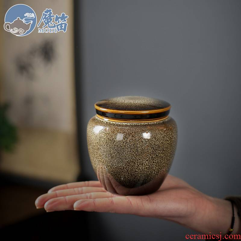 The flute up ceramic tea pot seal pot POTS green tea tea tea pot household saving POTS storage tanks