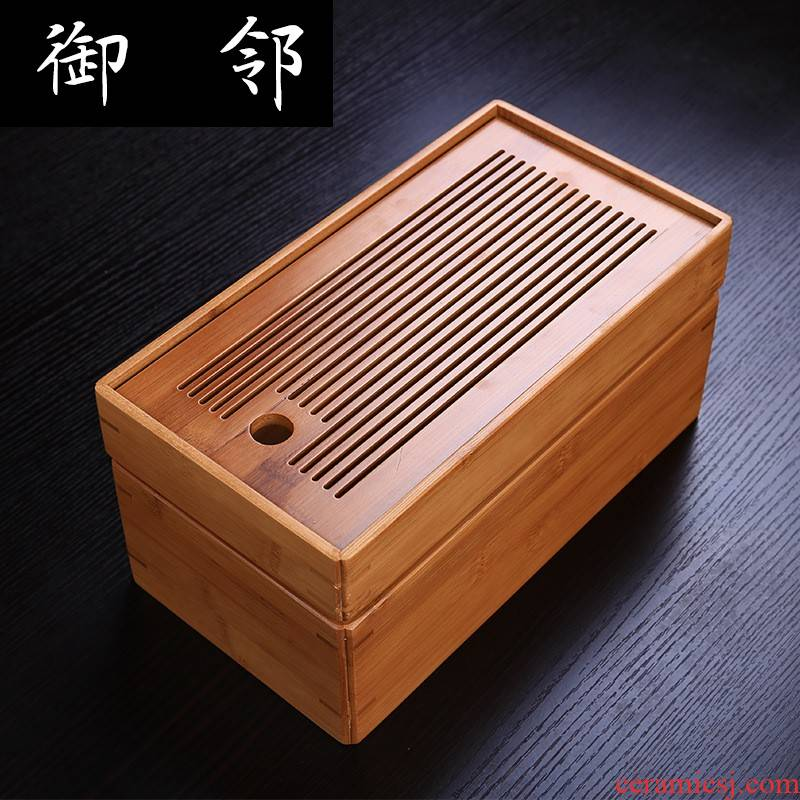 Tea boxes Tea tray was set box simple saucer bamboo kung fu Tea set hotel rooms large indoor products