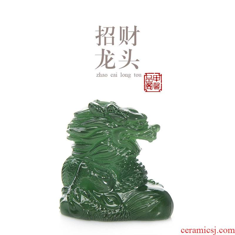 JiaXin tea pet color pet lucky leading discoloration and pet play tea tea tea accessories kung fu tea set furnishing articles