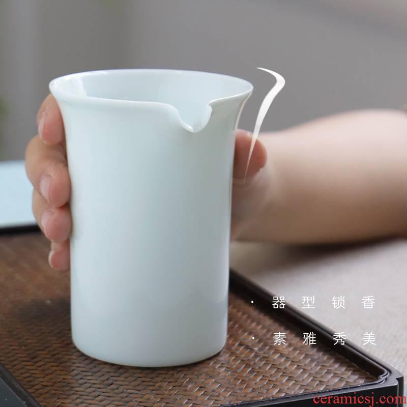The Escape this hall kung fu tea tea ware jingdezhen ceramic fair keller celadon points sea and a cup of tea and a cup of tea accessories