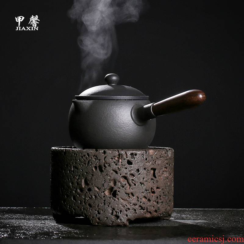 JiaXin for collection of fine checking volcano 】 electric TaoLu boiling tea ware furnace suits for the teapot