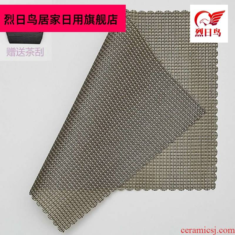 The Filter Japanese linen every dry machine dross tea tea tray mat cloth tea table cloth to protect large by hand