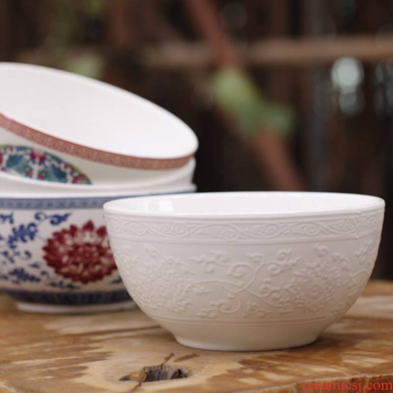8 hx jingdezhen porcelain bowl that occupy the home bucket color ipads bowls 4 pieces wedding gift set rice bowls
