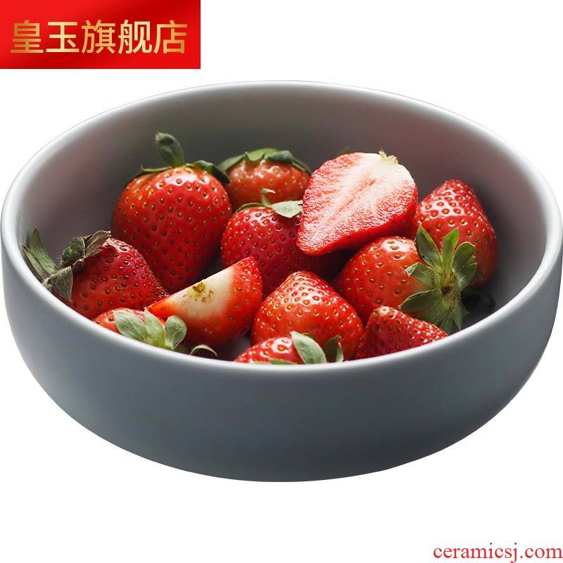 3 wx 2 dishes suit household Nordic ins tableware dishes ceramic bowl with chopsticks to eat bread and butter plate 4 type