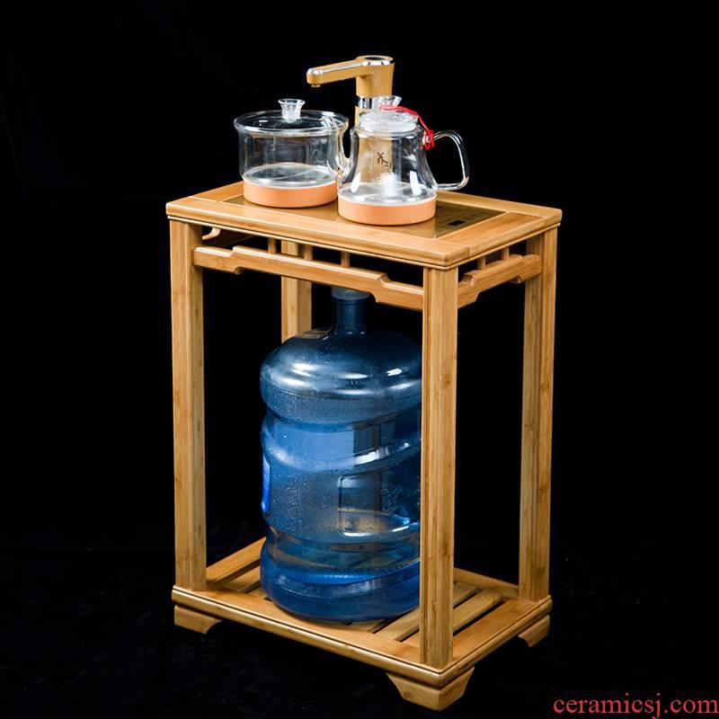Hong bo acura walnut tea tank kung fu tea tea set zero with tea, tea edge ano kettle sets