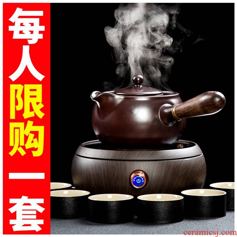Heat preservation pot stewed tea office personal with cooking pot boil tea with dual boiled tea web celebrity can be customized