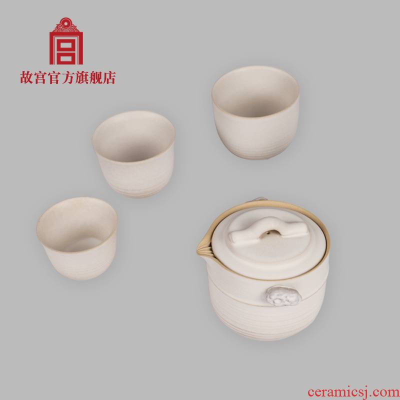 Four broke the imperial palace Song Yun crack cup cup head 'day gift palace official birthday gift