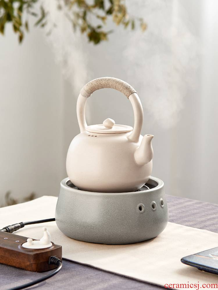 Taiwan warbler song town xiao burn wave 2 DaiDian TaoLu circular.mute little tea stove ceramic jug kettle boil tea