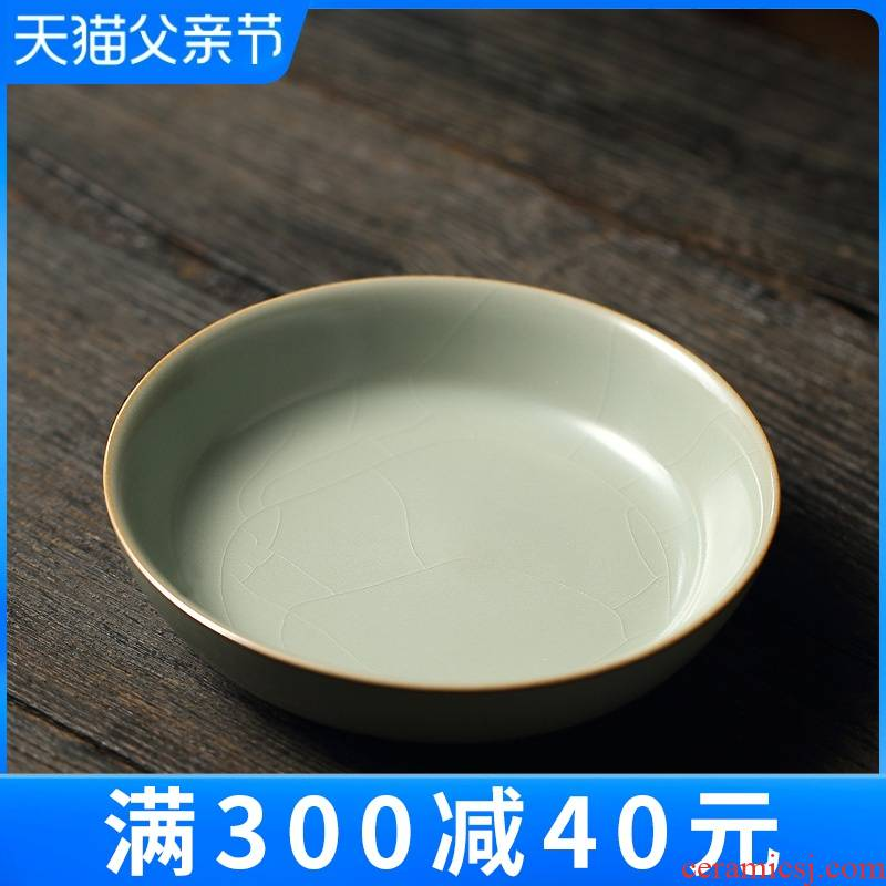 Limit your up pot tray was contracted pot bearing plate pot round tea tea tray manually doing mercifully tray of tea taking with zero