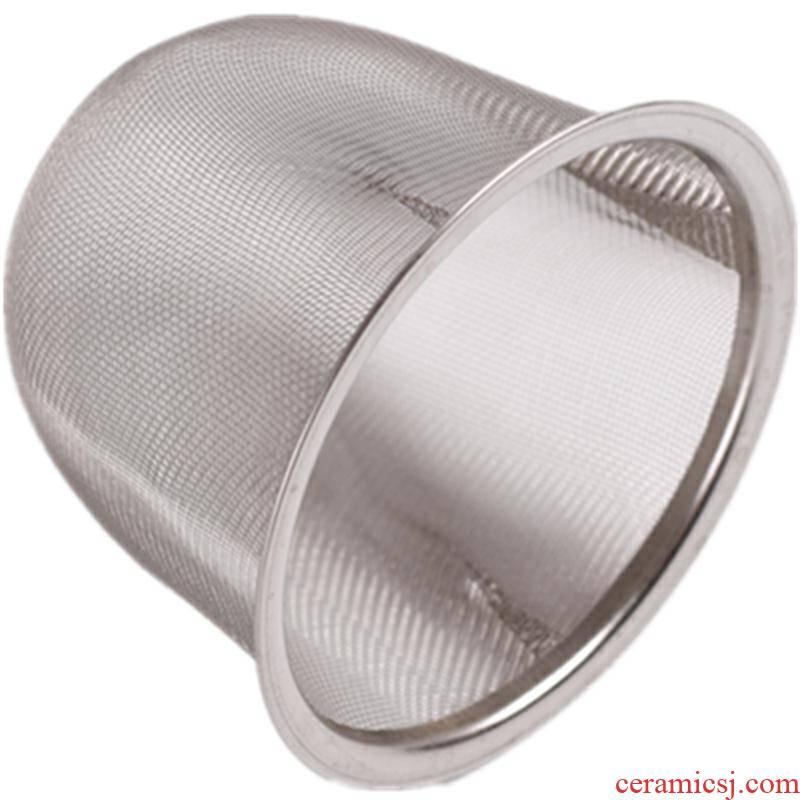 Fittings stainless steel filter filter boil tea teapot bladder) tea filter with zero