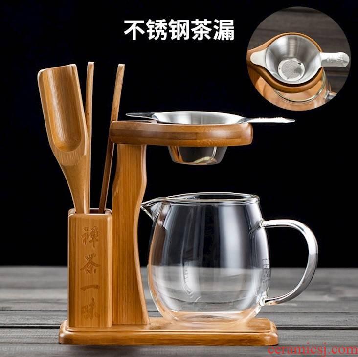 Kung fu tea tea accessories filter) aircraft tea bamboo couch potato tea easily mercifully screen pack fair keller