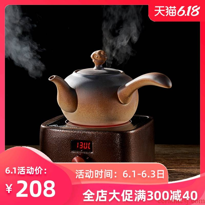 Household ceramics coarse pottery firewood side kunfu tea tea kettle teapot ceramic POTS electric TaoLu tea stove to boil tea