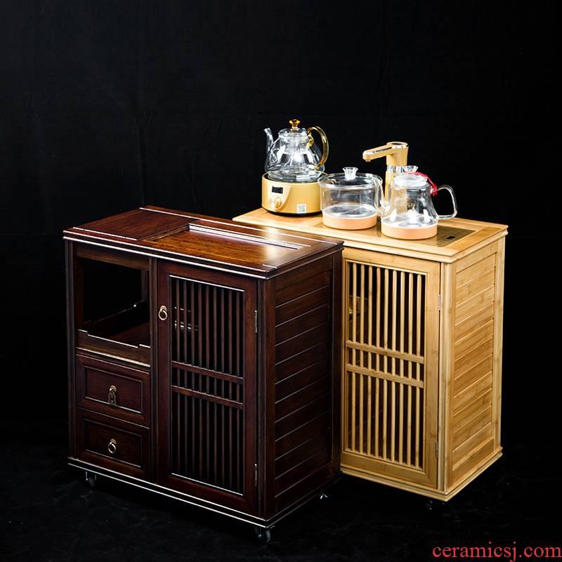 Hong bo acura retro walnut tea edge ark, household kung fu tea tea tea water tanks of tea machine zero