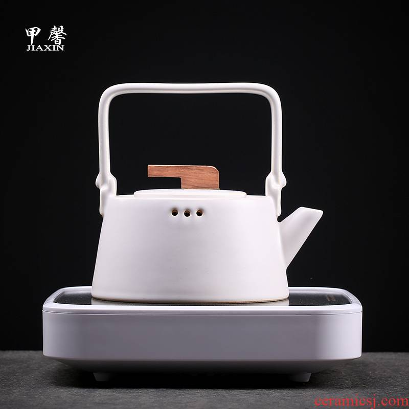 TaoLu JiaXin electricity boiling tea ware ceramic teapot suit household automatic boiling tea stove teapot kettle