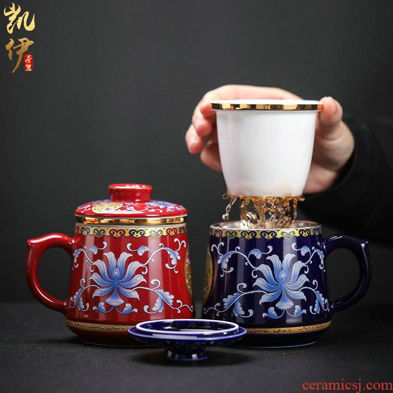 Colored enamel coppering. As 999 silver cup office cup carpet hand grasp filtering cup silver cup silver cup ultimately responds cup