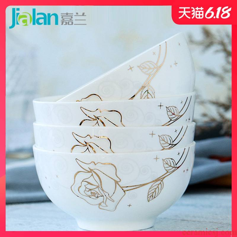 Garland ipads bowls of household rice bowls rainbow such as bowl bowl dessert salad bowl creative ipads porcelain tableware rainbow such use