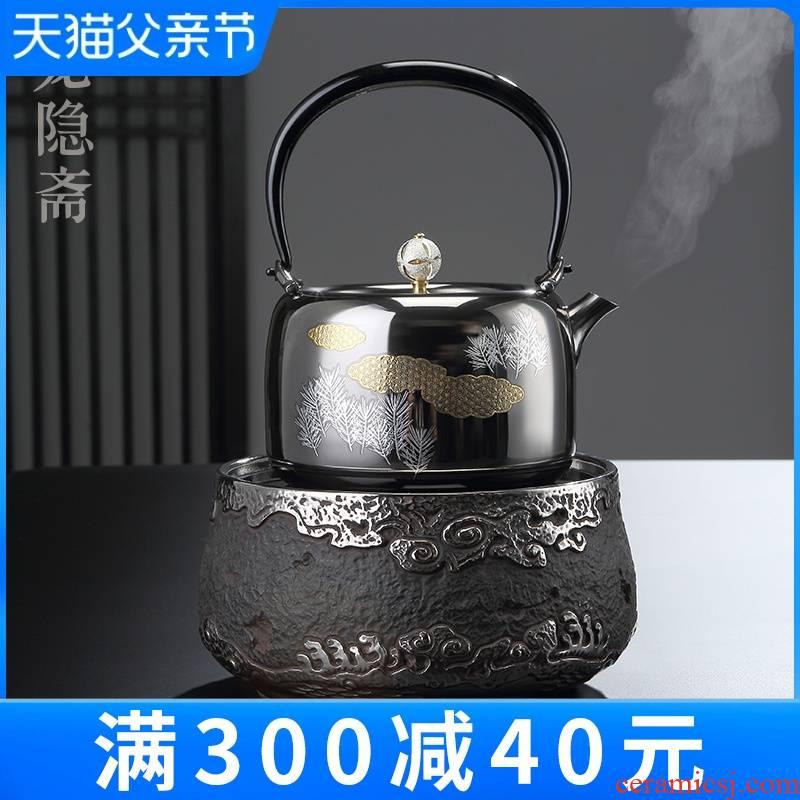 Taiwan Long Yin lent silvering electric iron TaoLu cloud intelligent.mute electric tea stove electric tea stove to boil tea stove household utensils