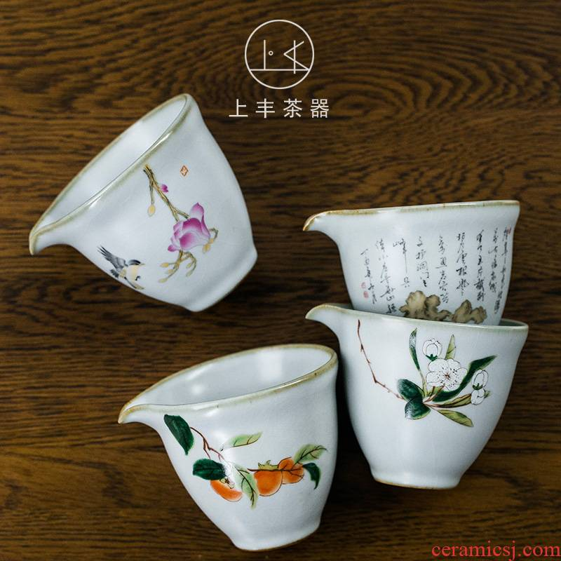 Feng ru up on a single ceramic fair keller archaize the start points of tea tea sea applique supports customize LOGO