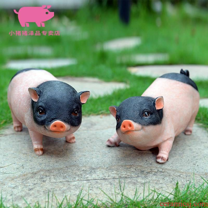 "A pig plutus the accumulate A great evil spirit furnishing articles 12 porcelain piggy pig, black black pig ceramic 12 zodiac"""