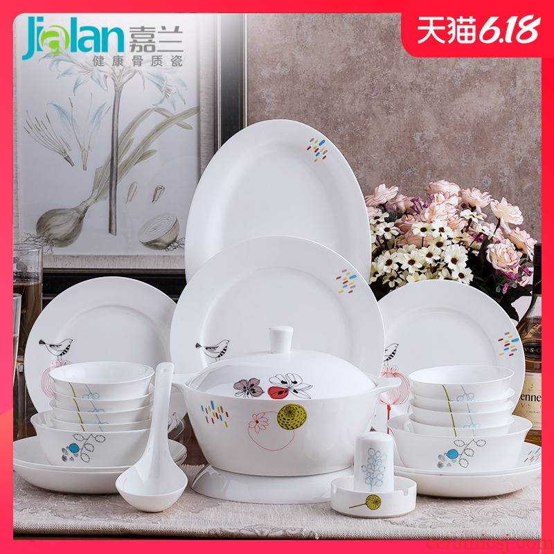 Garland ipads porcelain tableware optional combination soup bowl rainbow such as bowl spoon, free collocation with item ceramic household dish dish